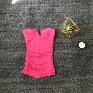 Bebe Pink Sleeveless Going Out Top Size XS